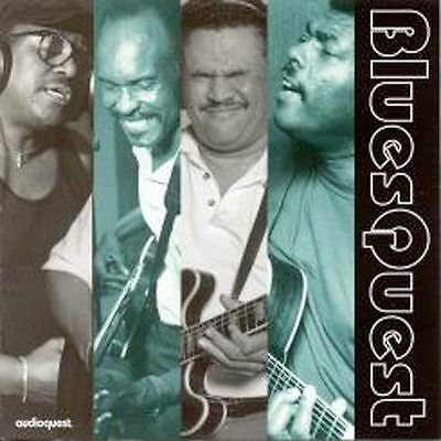 BLUESQUEST - Various - NEW SEALED CD AudioQuest Robert Lucas Mighty Sam McClain