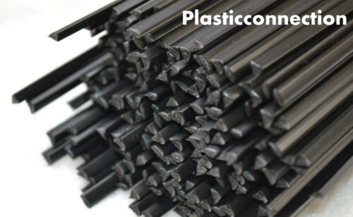 4mm POM Plastic welding rods 15 pcs black automotive industry