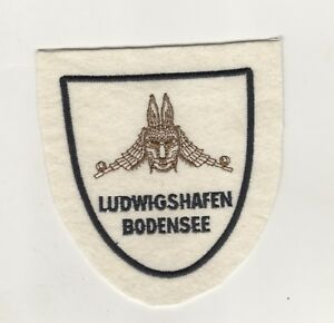 Sew-On-Patches-Sleeve-Badge-Ludwigshafen-Bodensee