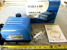 HAILEA V-20 COMMERCIAL GRADE HYDROPONICS AIR PUMP 320 GPH AQUARIUM FISH TANK