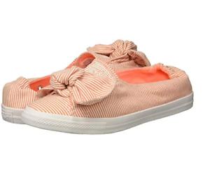 Star Orange Stripe Knot Slip