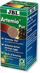 JBL-Artemio-Pur-40ml-Eggs-Fish-Tank-Brine-Shrimp-Live-Food-Culture-Artemia