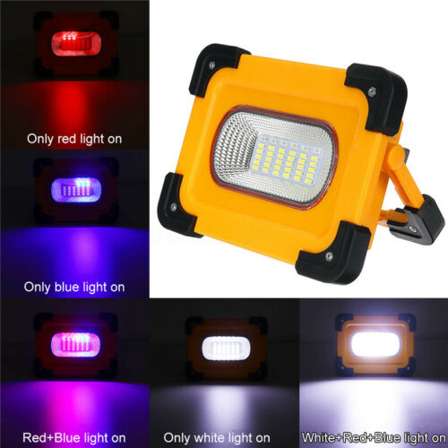 200W 2000LM COB LED Solar Work Light USB Rechargeable Emergency Dimmable Lamp