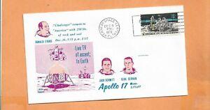 Apolo 17 Luna Desmontables Dic. 14,1972 Ksc Lunar Voyage Espacio