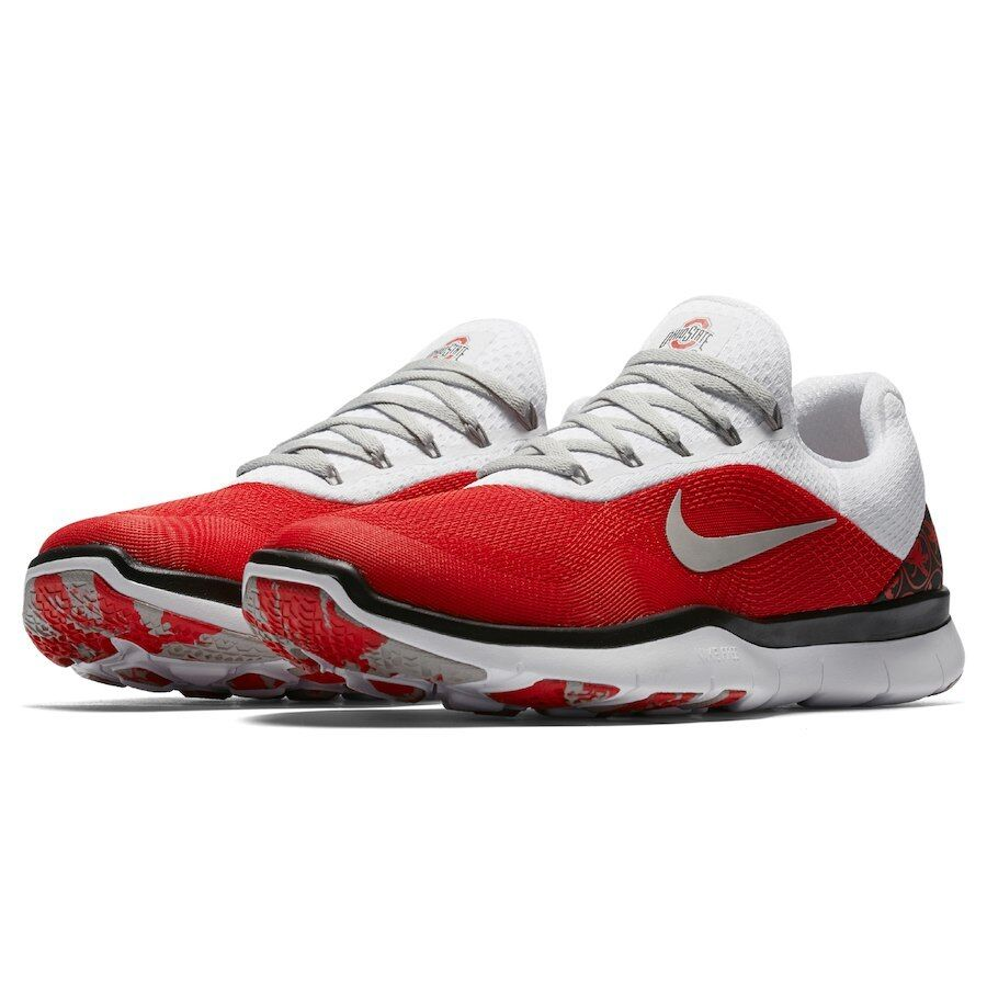 Nike NEW Mens Free Trainer V7 Week Zero Ohio State Shoes AA0881 Size 9 110