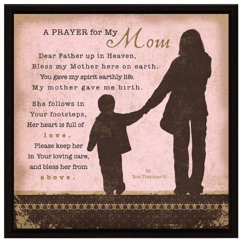 Dexsa Prayer My Mom Wood Frame Plaque With Easel Dx8614 | eBay