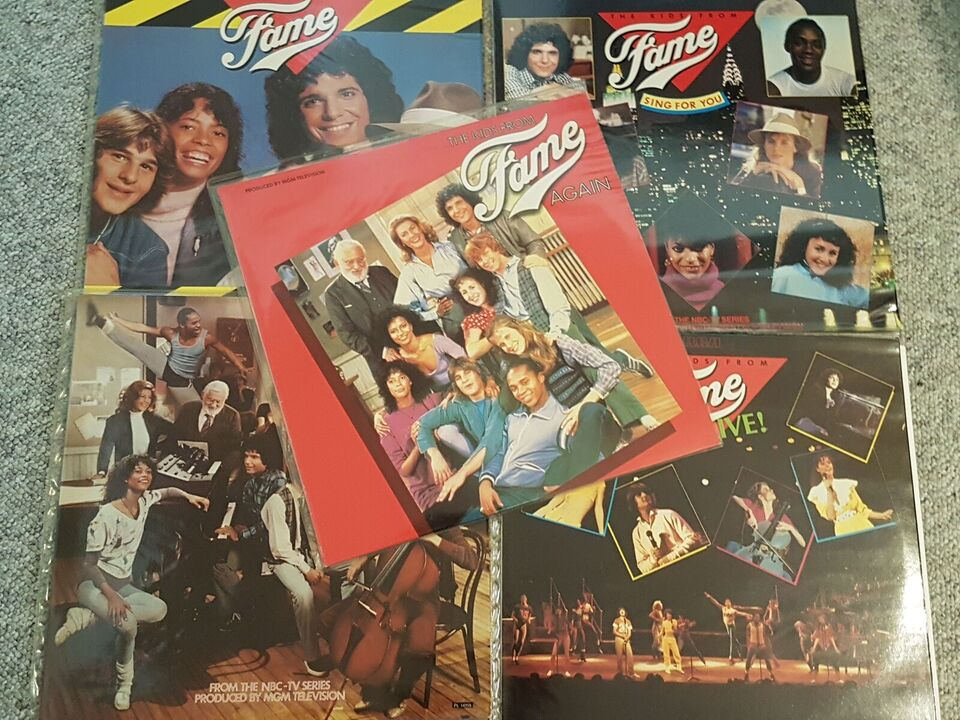 LP, The Kids from Fame