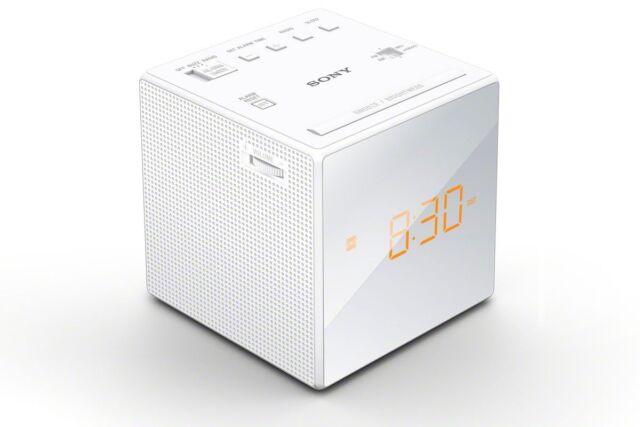 Sony - - 1 Sveglia Radio LED Bianco Nuovo di Zecca