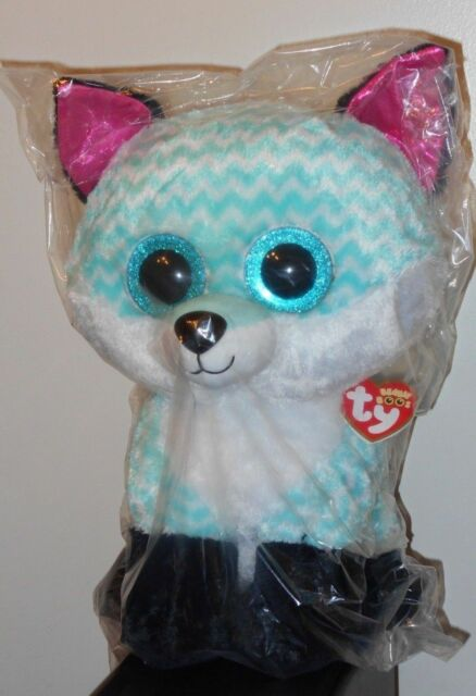 Ty Beanie Boo Claire s Piper The Fox Jumbo 16