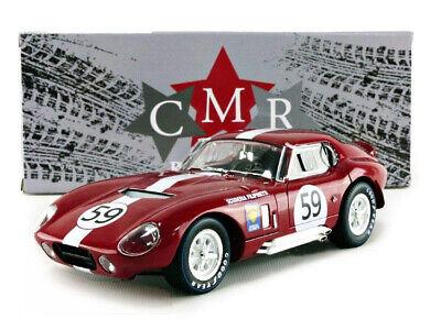 CMR112 1//18 CMR SHELBY COBRA DAYTONA COUPE 24H LE MANS 1965