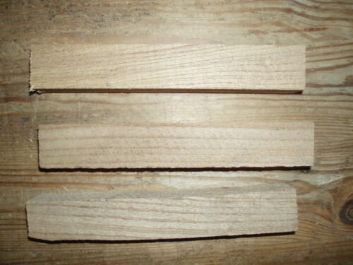 Wood Turning Spindle Blanks 40x40x200mm Yew Walnut Acacia Laburnum Apple Holly