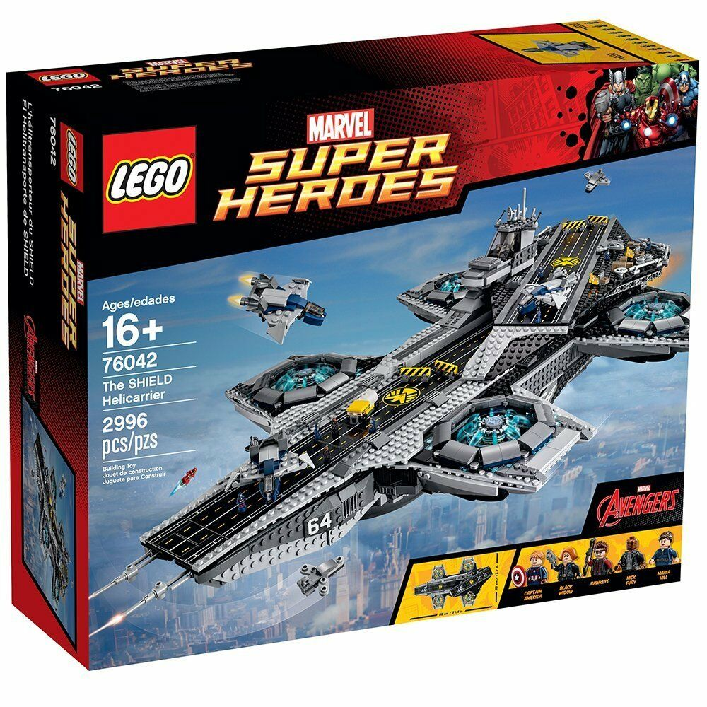 LEGO Marvel Super Heroes The SHIELD Helicarrier 76042 - Retired