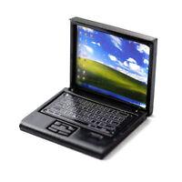 Laptop Black Folding Dollhouse Dollhouse 1:12 D1157