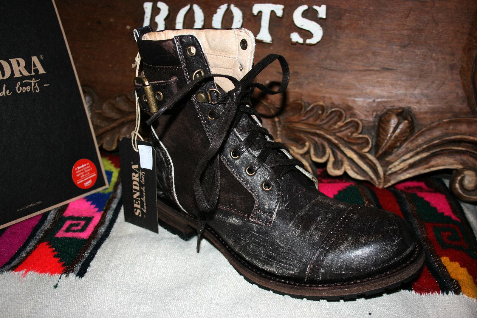 11935 Sendra chaussure brun foncé used série limited***Superbe promo***