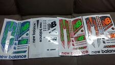 NEW Balance Cricket Bat Stickers Set of 4 Fast Postage