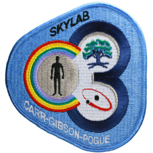 10.5 cm x 10cm Skylab 4 Embroidered Patch Official Patch