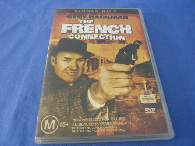 The French Connection DVD Gene Hackman Roy Scheider Region 4