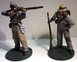 Figurines Oryon American Civil War Infanterie Confédérée 1863 Sharpshooters
