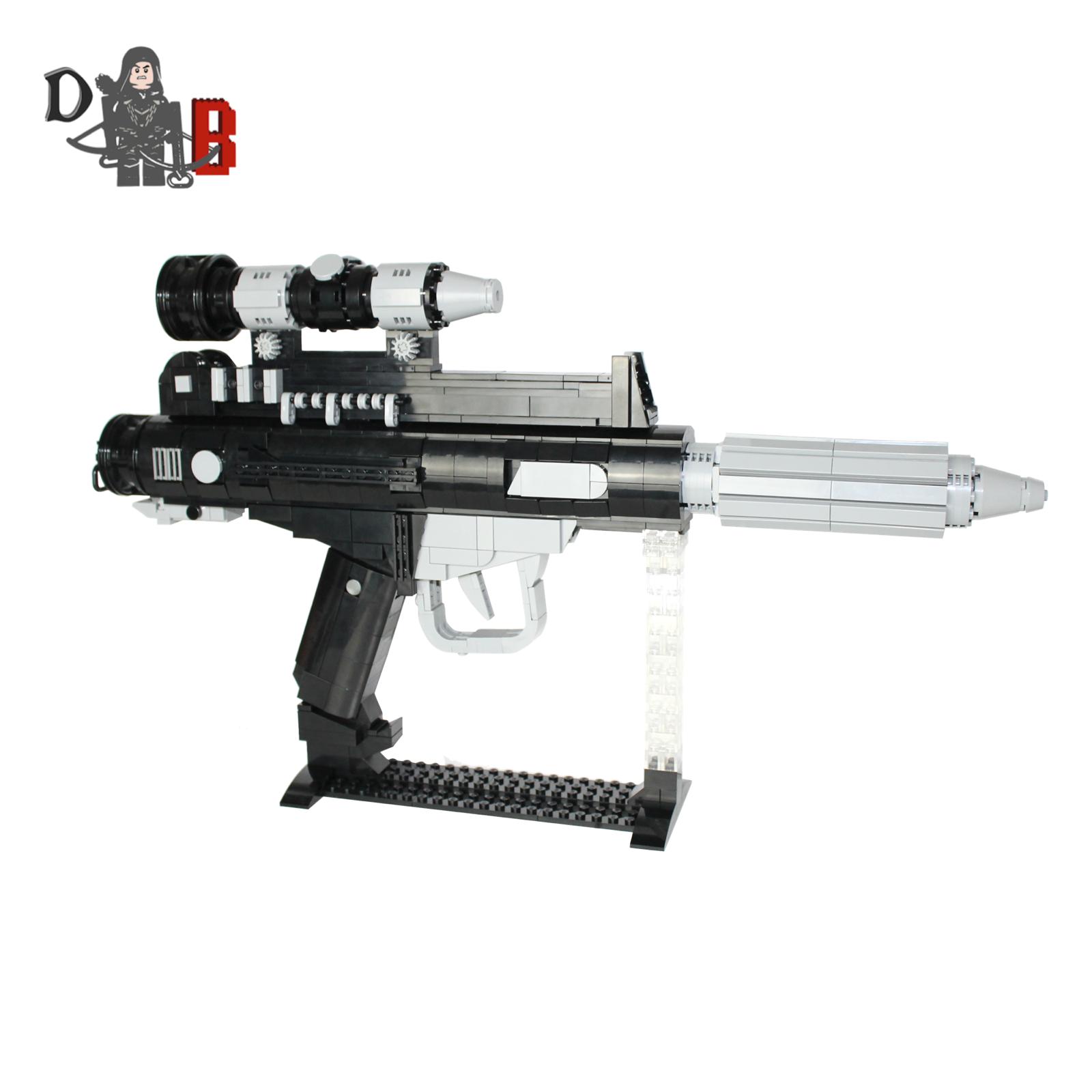 Star Wars Custom Custom Custom DH-17 Battlefront Rebel Blaster Pistolet fabriqué au moyen de Lego pièces c4d228