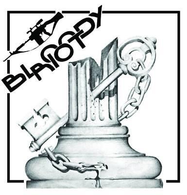 Bloody Riot 7 Quot Vinyl Ep Hardcore Punk Band Roma Rock Oi