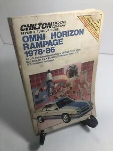 Repair-Dodge-Plymouth-Omni-Charger-Horizon-Rampage-Miser-TC3-Tourismo024-1978-89