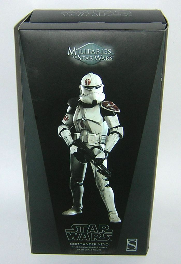 Star Wars Sideshow Collectables 1:6 12 inch Scale Commander Neyo MIB