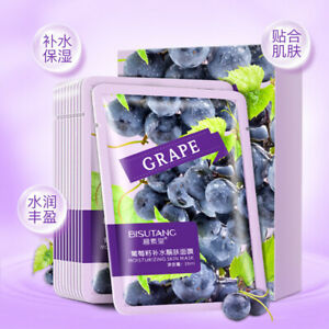 #1 COSMETIC NATURAL GRAPE SEED EXTRACT FIRMING MOISTURIZING FACE SHEET MASK