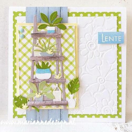 Marleen/'s Shelves CR1463 Marianne Design Craftables Cutting Dies