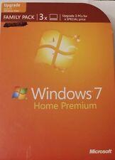 Microsoft  Windows 7 Home Premium Family Pack 32/64-Bit 3 user- w/ product keys