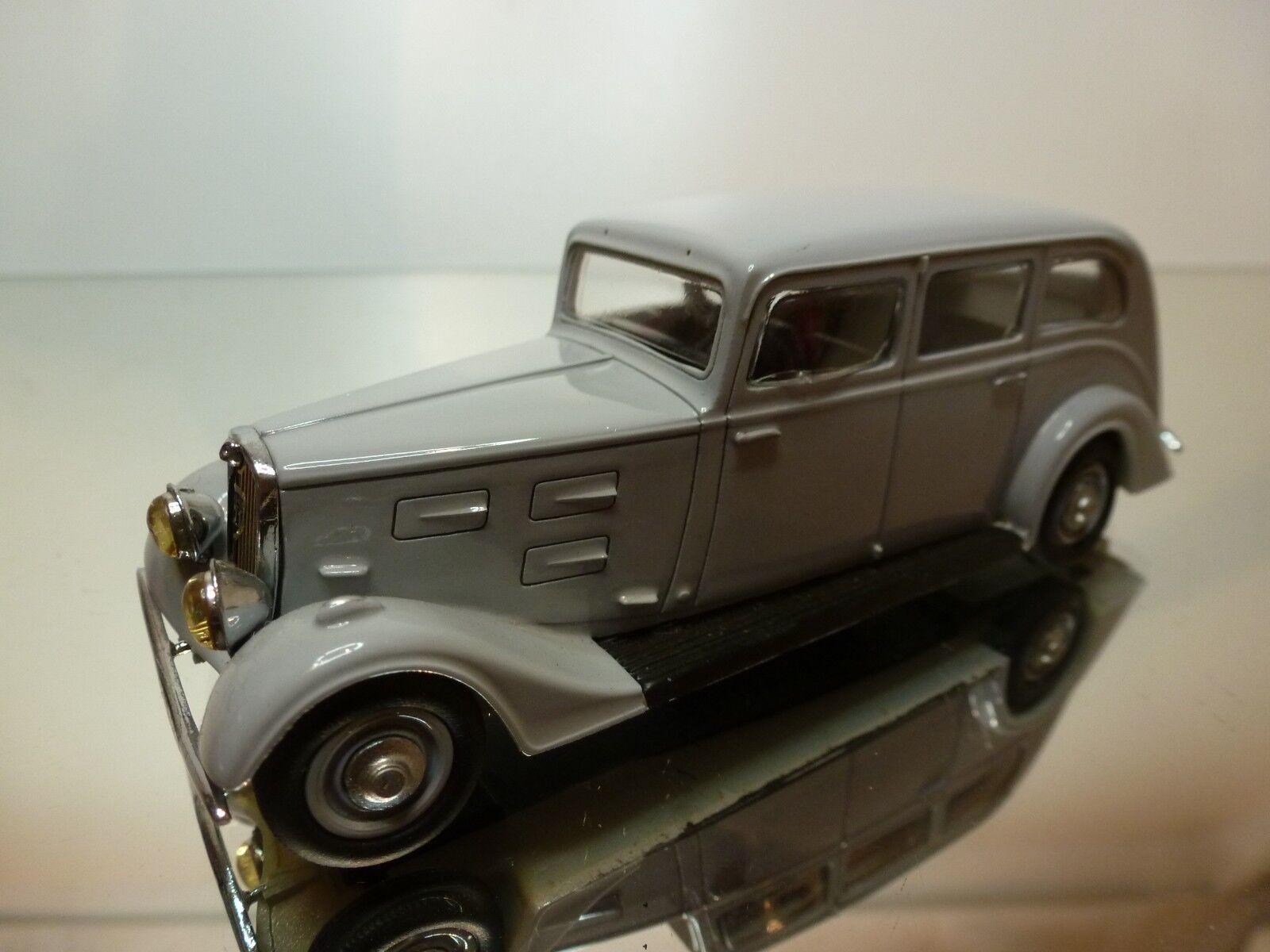 Paradcar 117 peugeot 601 1934 familiale - grau 1 43 guten zustand - 17   16.