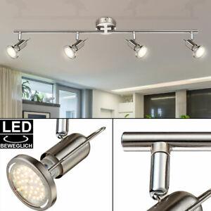 Spot Decken Lampe Spot Leuchte Strahler beweglich Wohn Büro Zimmer Beleuchtung