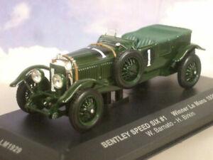 Bentley Speed Six #1 Winner 24H Le Mans 1929 Barnato Birkin IXO 1:43 LM1929 Mode