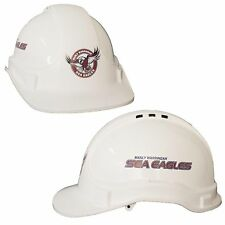 Manly Sea Eagles NRL Light Weight Vented Safety Hard Hat Work Man Cave Gift