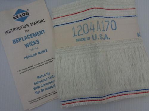 USA MH1359 KEXON MK170 35221 Fiberglass Replacement Wick for Kerosene Heaters