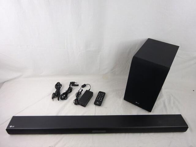LG Electronics SJ4 Soundbar Schwarz Bluetooth DEFEKT - W20-MU5910