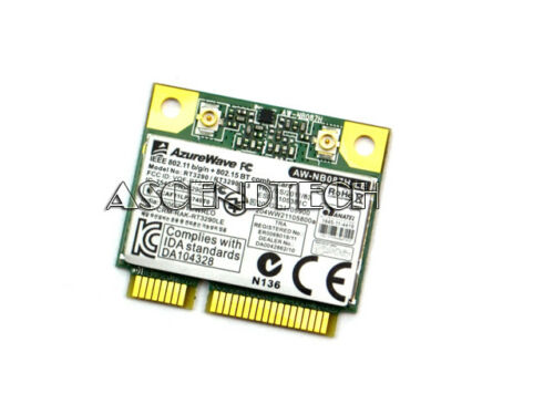 AZUREWAVE MINI PCI-E 802.11 BGN WIRELESS CARD AW-NB087H-LE RT3290 RT3290-C3 USA