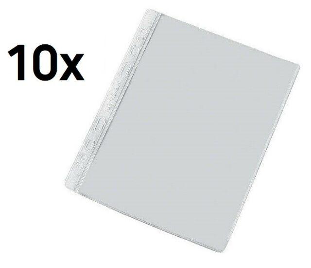 10 Veloflex Prospekthüllen A3 80my glasklar Klarsichthüllen Sichthüllen Hüllen