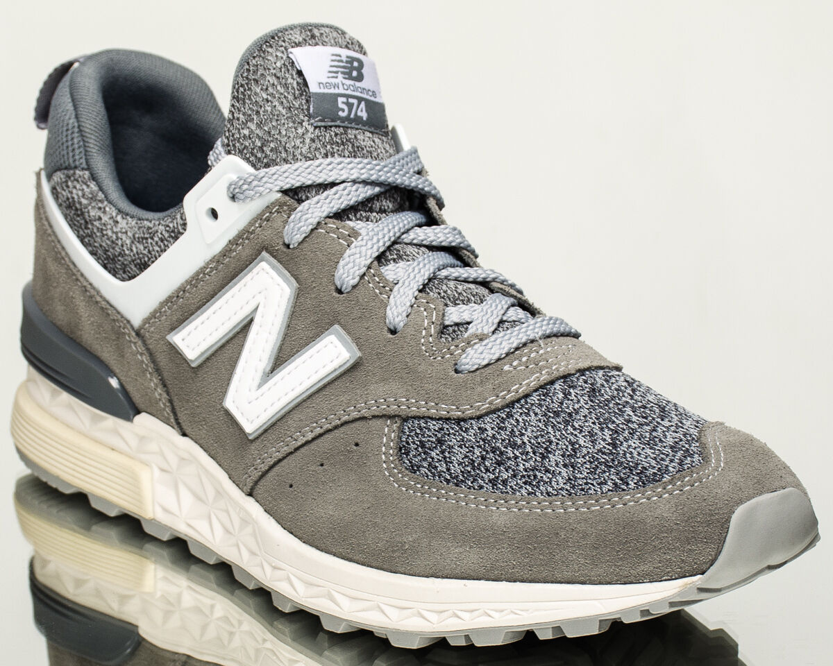New Balance 574 NB men lifestyle casual sneakers grey MS574-BG