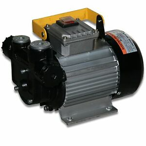 Heizoelpumpe-Dieselpumpe-Selbstansaugend-230Volt-230V-Pumpe-Olabsaugpumpe-60L-min