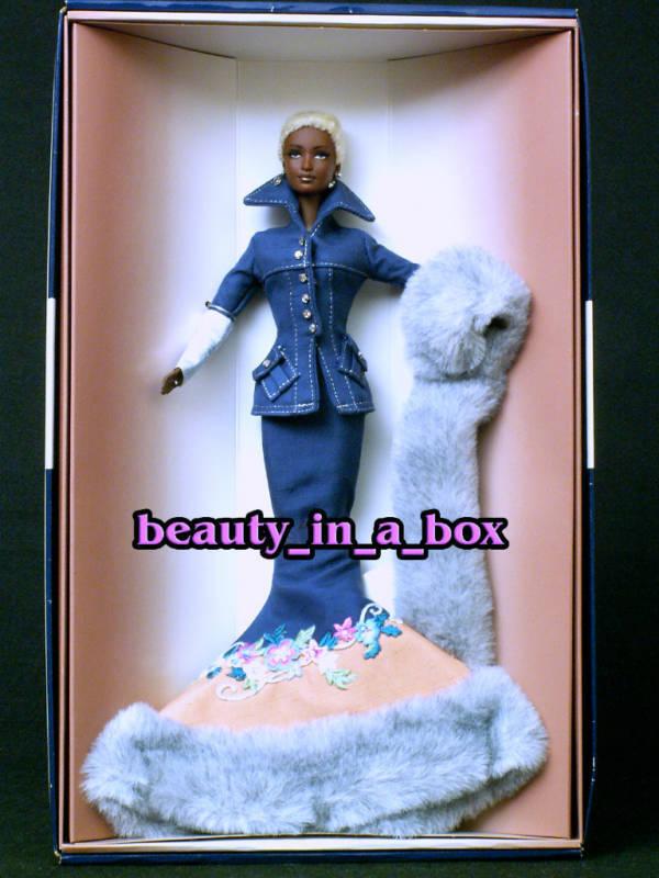 Indigo obsesión pista serie Byron Lars Barbie Muñeca AA afroamericano nunca quitado de la caja