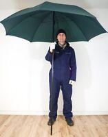 Lot Of 3 X Fishing Large Umbrellas With Pole - Dark Green - Diameter:160cm Cheap