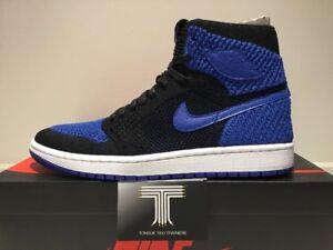 "b836581c3cb232 Nike Air Jordan 1 Retro Hi Flyknit ""Game Royal"" ~ 919704 006 ~ Uk ..."