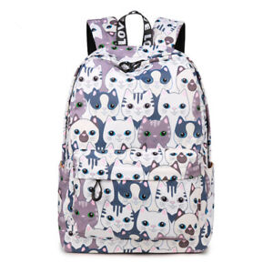 665a2a9922 Image is loading Trend-Women-Backpack-Preppy-Style-School-Bags-Cute-