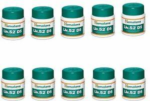 (10 X 60)  Himalaya Liv 52 DS (Double Strength) Liver Care Tablets (BEST PRICE)