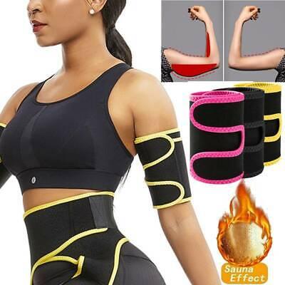 Arm Trimmer Sweat Sauna Belt Shaper Fat Burner Body Slimmer Cincher Trainer