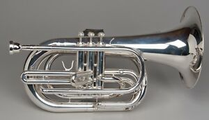 TEMPEST-AGILITY-WINDS-Bb-MARCHING-BARITONE-SILVER-PLATED-EXACT-PITCH-BIG-SOUND