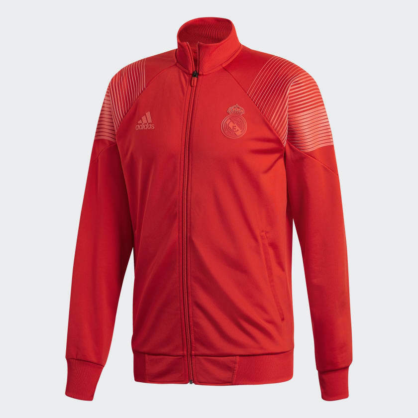 Veste à glissière Adidas Homme Real Madrid LIC Icon Track (Rouge) CW8705 *