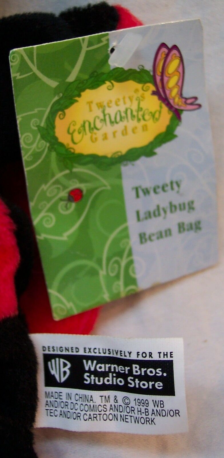 """Applause Flower and ladybug Tweety NEW 9/"""" long"""
