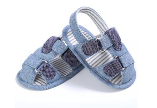 Infant Baby Boy Soft pram Chaussures Toddler Pré Walker Sandales nouveau-né À 18 M