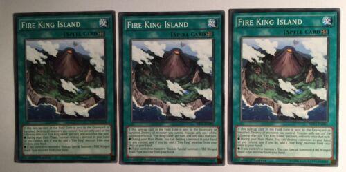M 3X Fire King Island SHVI-EN092 1st Edition Common